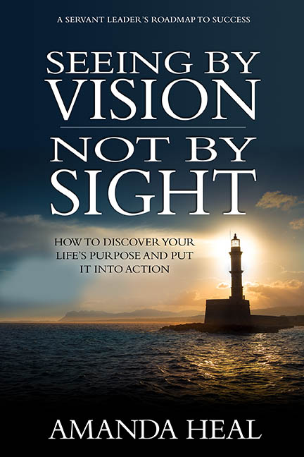 Seeing by vision not by sight book cover